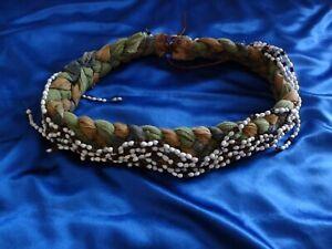 VERY RARE Xena/Hercules Prop/Costume Belt #2 - Elaborate Bead & Cloth Thick Belt