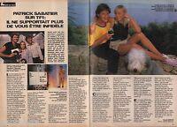 Coupure de presse Clipping 1987 Patrick Sabatier    (2 pages)