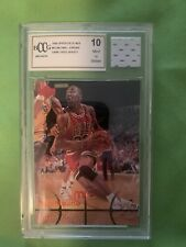 1998 Michael Jordan Upper Deck MJX #45 GAME USED JERSEY