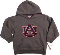 Auburn Hoodie Sweatshirt Boys Girls Size 4 Cotton Blend Long Sleeve New