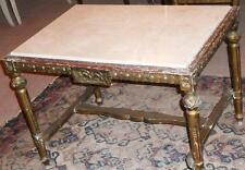 Baroque Louis Sofa Marbre Table Antique Ancien Marble 17 18 19