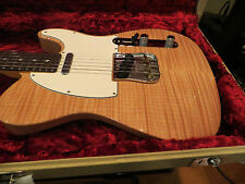 Fender Custom Shop Custom Deluxe Telecaster AAA Flame Top Natural Stain 2013