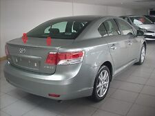 TOYOTA AVENSIS 3 mk III from2009 BOOT / LIP / TRUNK SPOILER  !!! NEW !!! NEW !!!