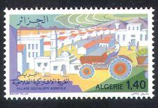 Algeria 1977 Agriculture/Tractor/Mosque/Village/Farming/Transport 1v (n39530)