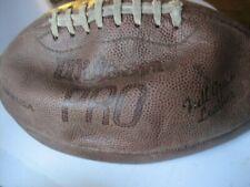 Mid Century Wilson Pro Full Grain Leather Football-Official Size & Pattern