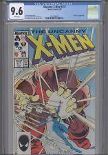 Uncanny X-Men #217 CGC 9.6 1987 Marvel Comics  Dazzler vs Juggernaut :New Frame