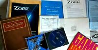 Return to Zork 1993 PC game Disc Manual adverts Encyclopedia & more No big box