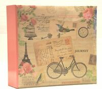Vintage Memo Slip In Photo Album 200 6 x 4'' Photos Memories Organise-  OLD001