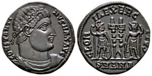 CONSTANTINE THE GREAT (330-335 AD) Ae3 Follis. Antioch #CA 7677