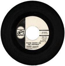 "JOHNNY MAESTRO  ""PHONE BOOTH ON THE HIGHWAY""   DEMO  NORTHERN SOUL   LISTEN!"