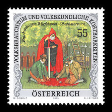 Austria 2005 - National Customs and Folklore Treasures - Sc 2020 Mnh