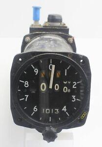 Sensitive Altimeter 6A/4832 116AM/PC Smiths EE Lightning RAF Vintage Aircraft