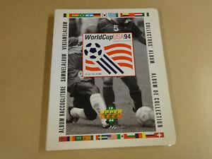 FOOTBALL UPPER DECK ALBUM  WORLD CUP USA 94 / 296 CARDS