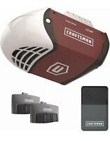 Craftsman 1/2 HP Chain Drive Garage Door Opener System w 2 Remotes, Rail, Chain