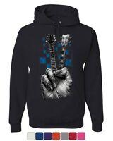 Amped Up Tank Top Music Guitar Skeleton Rib Cage Rock Star
