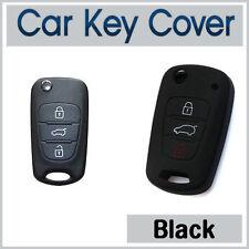 Car Key Cover KIA SPORTAGE RIO SORENTO SOUL AMANTI PICANTO CASE SILICONE -BLACK