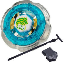 4D Beyblade BB30 Rock Leone Metal Fusion Beyblade with Launcher Kids Games Toys