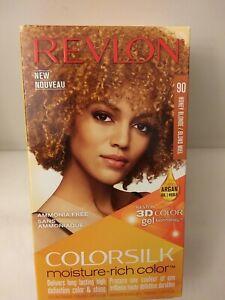 REVLON  MOISTURE-RICH COLOR. HONEY BLONDE/ BLOND MIEL PERMANENT HAIR DYE