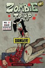 ZOMBIE TRAMP ORIGINS #3 F  SEXY RISQUE ACTION LAB MATURE Collector NUDE NM