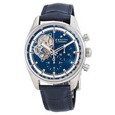 Zenith Chronomaster El Primero Blue Dial Mens Chronograph Watch