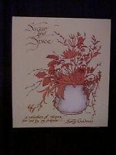 Sugar and Spice Cookbook Collection of Recipes for & by my Friends Sally Goldman
