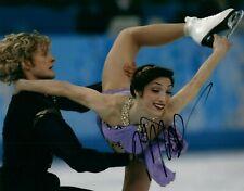 Meryl Davis USA Ice Dancer Olympian Signed 8x10 Autographed Photo COA Gold 3