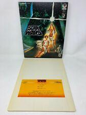 Video High Density VHD Star Wars