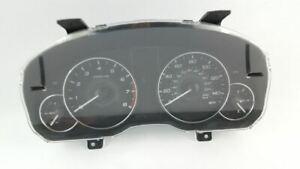 Instrument Gauge Cluster Speedometer 2.5L AT OEM 2011 Subaru Legacy