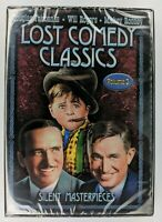 Lost Comedy Classics DVD Vol. 3: Silent Masterpieces - New