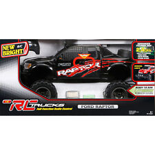 Top Quality New Bright RC 1:6 Scale Ford Raptor Truck 12.8 V Battery Size Black