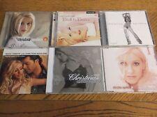 CHRISTINA AGUILERA,  6  CD LOT - USED CD