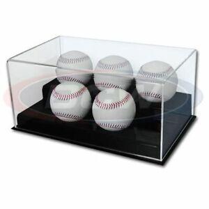 BCW Acrylic 5 Baseball Display Case