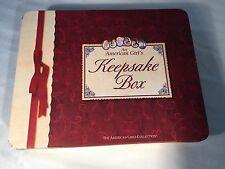 American Girl Doll Keepsake Tin Box