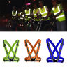 Safety Reflective Adjustable Security High Visibility Vest Gear Stripes Jacket
