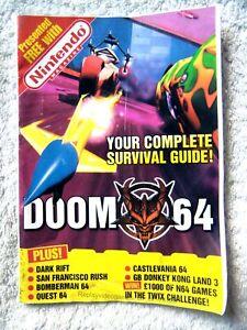 74723 Nintendo Magazine Doom 64 Your Complete Survival Guide Magazine