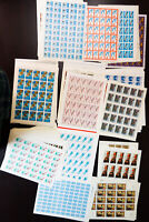 Russia All Mint Fresh Commemorative Collection 4,500 Stamps in Sheets