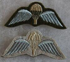 brevet de  parachutiste anglais