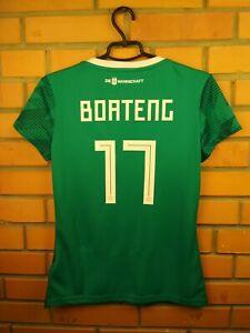 Boateng Germany Women Jersey 2019 2019 Away SMALL Shirt BR3149 Football Adidas