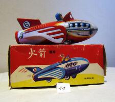 Rocket Racer 6, Friktion (Schwungradantrieb), Knatterton, 19 cm, China, OVP