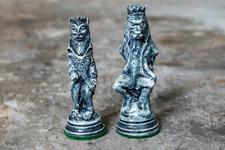Original Reynard the Fox Chess Set - Newly Hand Cast from Stone Powder