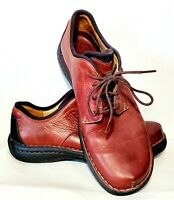 Clarks Shoes Mens Size 12M Brown Leather Comfortable Lace Up Casual wear