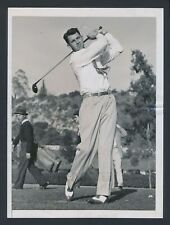 """1938 Henry Picard, """"Head to Toe Driving Photo"""" Set for Masters Victory"""