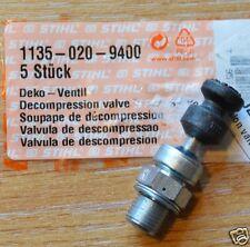 Genuine STIHL Válvula de descompresión MS361 MS341 MS362 MS311 MS391 MS441 seguimiento