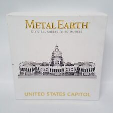 Metal Earth United States Capitol  Metal Laser Cut 3D Sculpture Kit  NEW