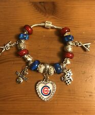 Chicago Cubs Charm Bracelet