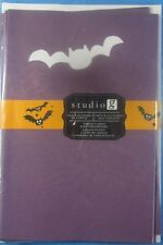 Studio G Purple Halloween Bat Blank Cards And Envelopes Bag Of (6)