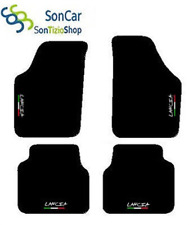 Carpet lancia musa 2004-06, Embroidery: tricolour and Throw + 4 Fix compatible!