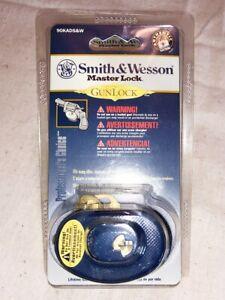 Smith&Wesson Master Lock GunLock Keyed Trigger Lock #90KADS&W New Blister Pack