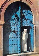 Tunisia Sidi Bou Said Femme Voilee