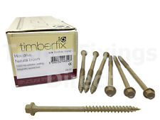 TIMBERFIX PLUS SLEEPER FASTENER LANDSCAPE SCREWS, DECKING HEXAGON HEAD